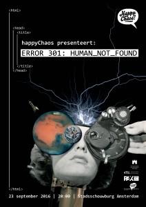 Error 301: human_not_found